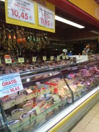 チーズ肉コーナー