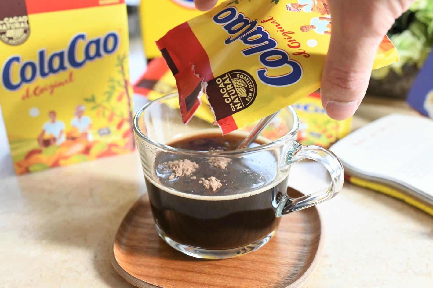 ColaCaoコーヒー