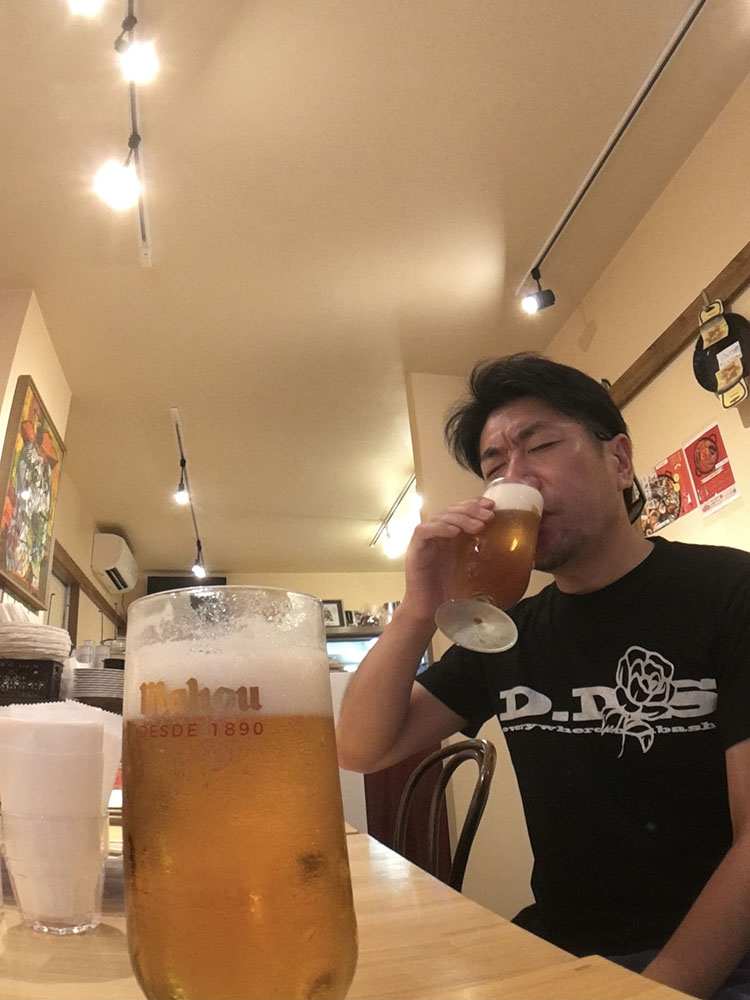 またお店でのんびりビールが飲めますように