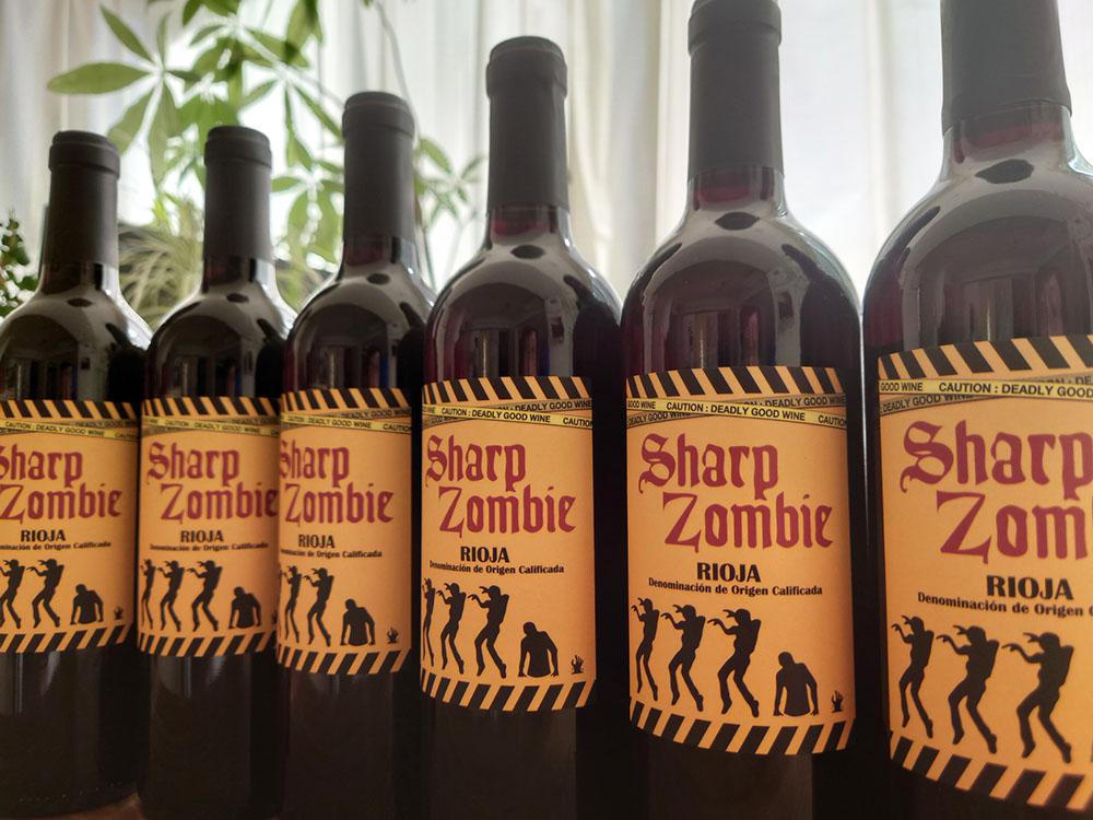 おうちハロウィン、遊び心のあるワインで