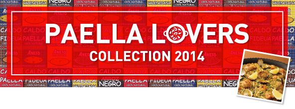 PAELLA LOVERS COLLECTION 2014